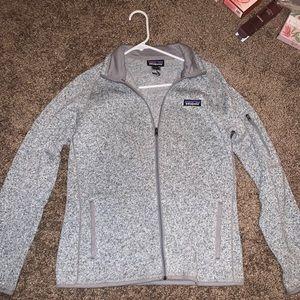 Patagonia Grey Zip Up